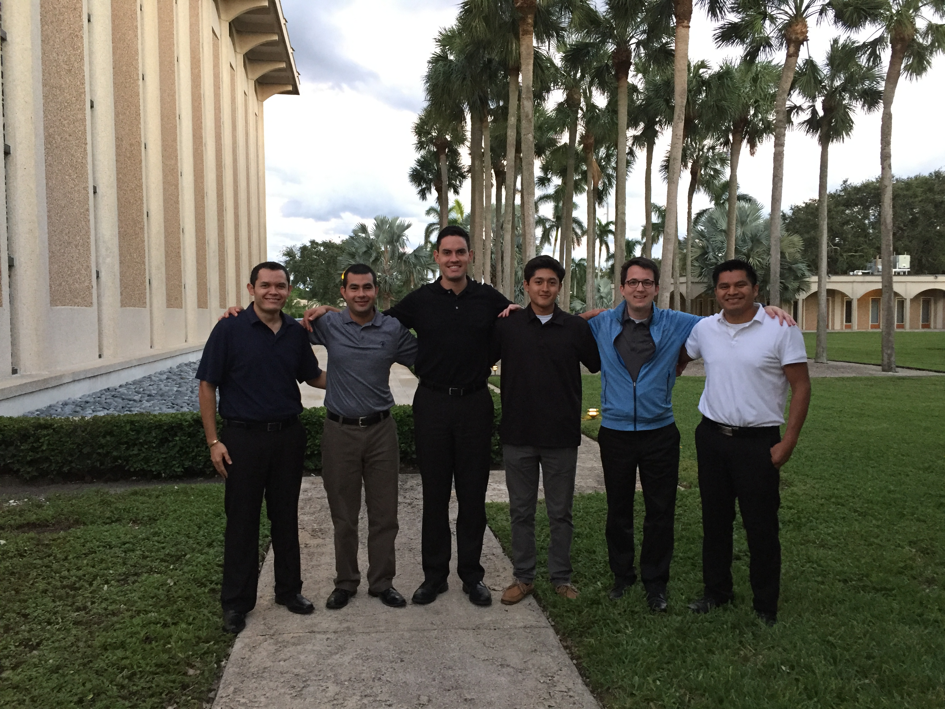 Seminarian Group Photo
